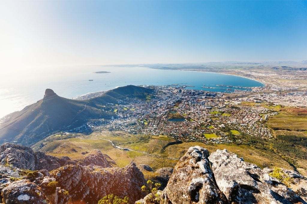 Cape Town View From Above.